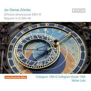 Jan Dismas Zelenka Officium defunctorum ZWV 47 Requiem in D ZWV 46 za Augusta Silného